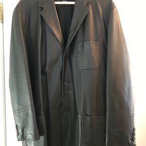 Men's Leather Hugo Boss